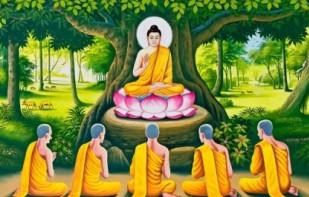 Buddha at Saranath